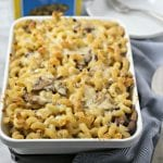 Three Cheese Baked Mushroom Pasta – An Easy Vegetarian Pasta Bake