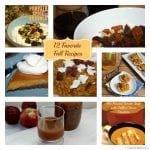 12 Favorite Fall Recipes