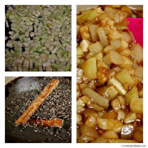Roasted Pear and Apple Syrup - Making the Syrup | Cooking In Stilettos