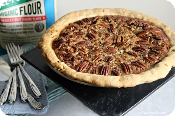 Bourbon Pecan Pumpkin Pie | Cooking In Stilettos