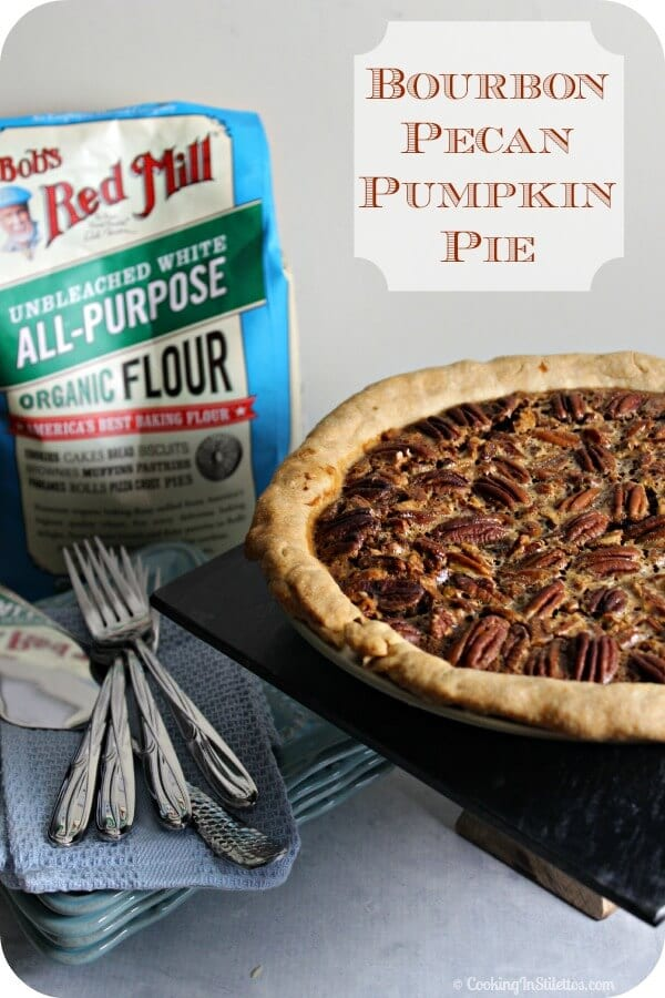 Bourbon Pumpkin Pecan Pie Recipes — Dishmaps