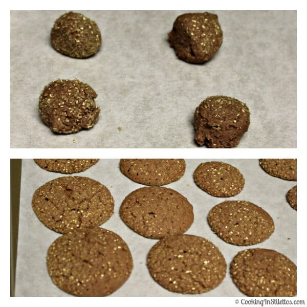 Chocolate Hazelnut Cookies - Time to Bake | Cooking In Stilettos