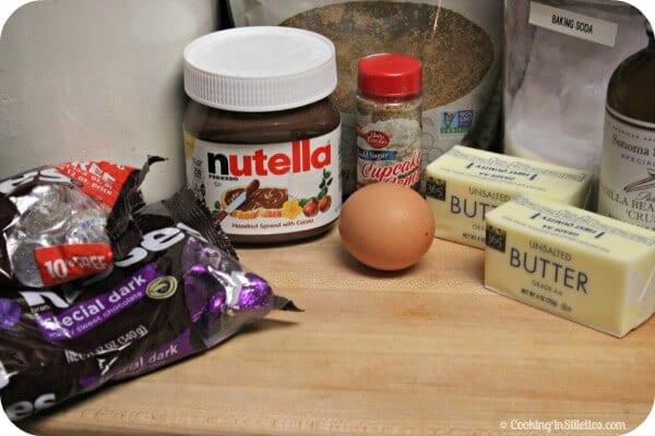 Chocolate Hazelnut Cookies - Ingredients   Cooking In Stilettos