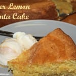 Blog Update With A Recipe For Meyer Lemon Polenta Cake