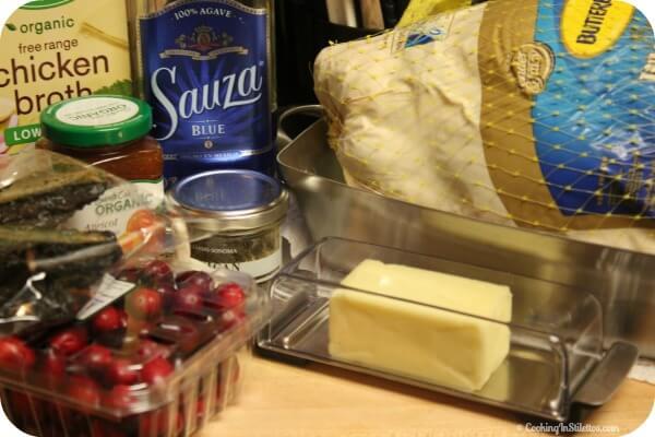 Thanksgiving Turkey with Cranberry Chile Tequila Glaze - Ingredients   CookingInStilettos.com