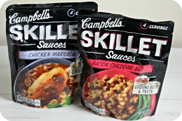 Campbell's Skillet Sauces | Cooking In Stilettos