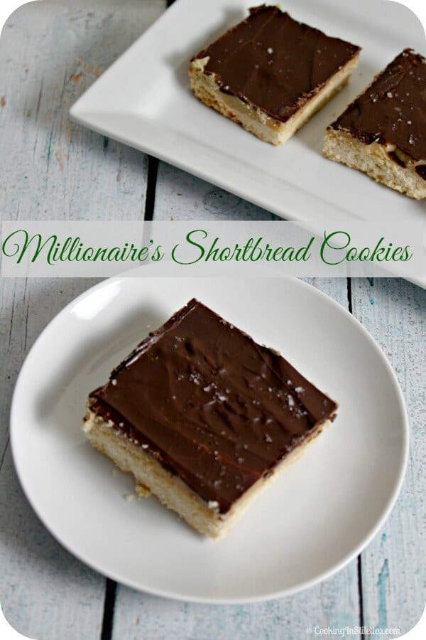 Millionaire's Shortbread Cookies | Cooking In Stilettos