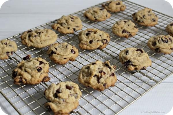 Orange Cranberry Chocolate Chip Cookies | Cooking In Stilettos