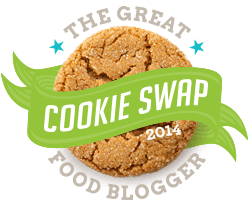 Great Food Blogger Cookie Swap Logo