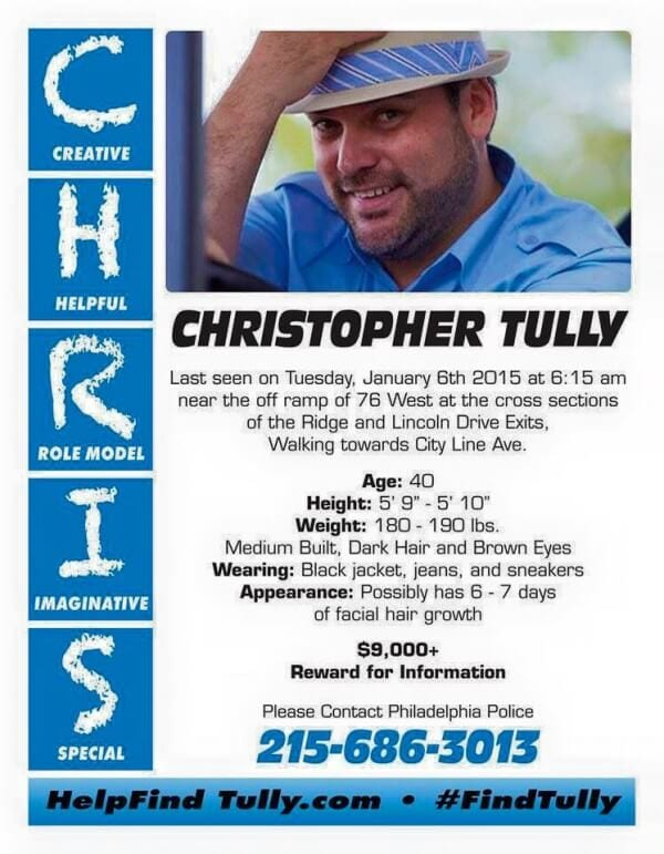Help Find Christopher Tully