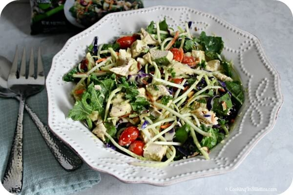 Wild Greens and Quinoa Salad with Baked Lemon Chicken   Cooking In Stilettos