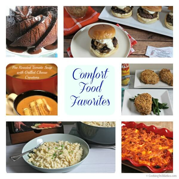 Comfort Food Favorites | Cooking In Stilettos