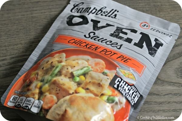Mini Southwestern Chicken Pot Pie - Campbell's Oven Sauces | Cooking In Stilettos