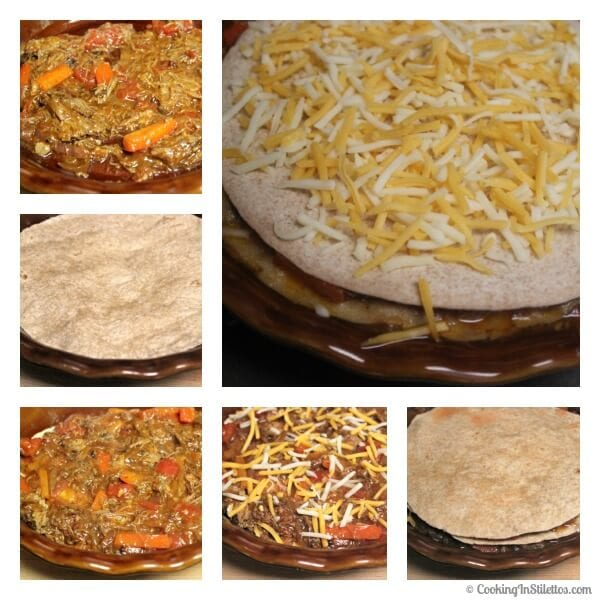 Shredded Beef Fajita Torta - Building the Torta | Cooking In Stilettos