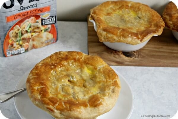 Mini Southwestern Chicken Pot Pie | Cooking In Stilettos