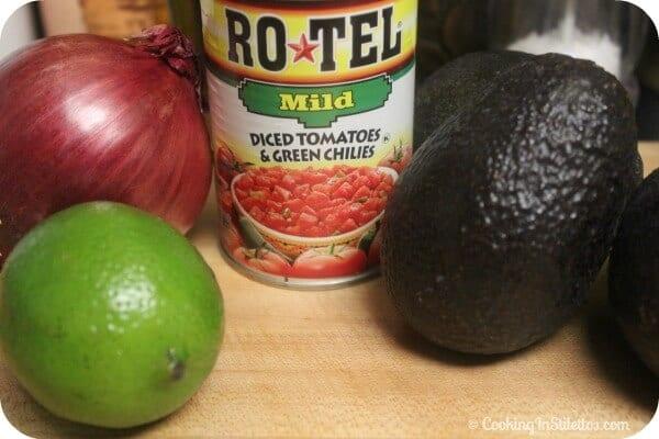 RO*TEL Rockin' Guac - Ingredients   Cooking In Stilettos