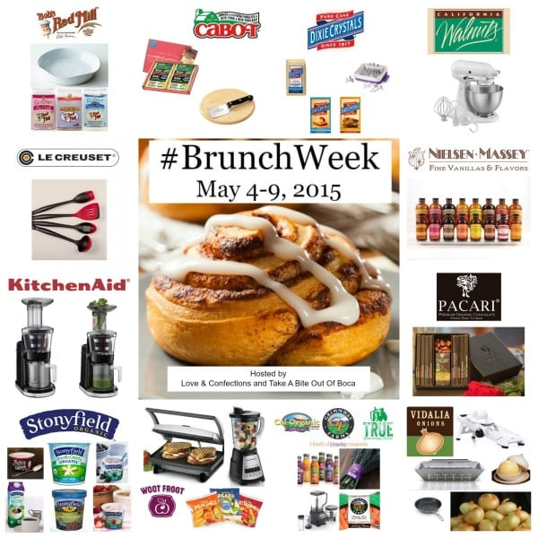 #BrunchWeek 2015 - All Prizes