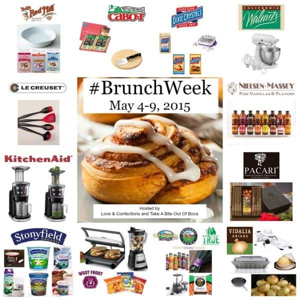 #BrunchWeek 2015 - All Prizes