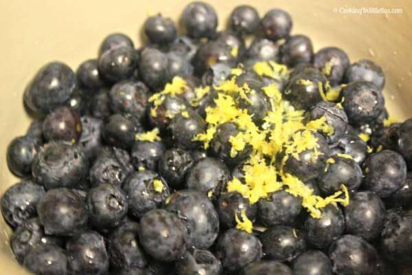 Easy Blueberry Sauce - Fresh Blueberries and Lemon | Cooking In Stilettos