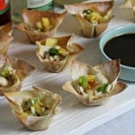 Easy Entertaining With Vita Frute Cocktails and Kalua Pork Wontons #PartyOrganically
