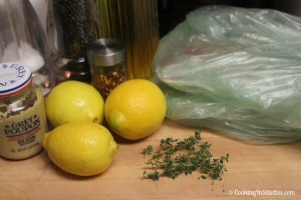 Lemon Chicken - Ingredients | Cooking In Stilettos