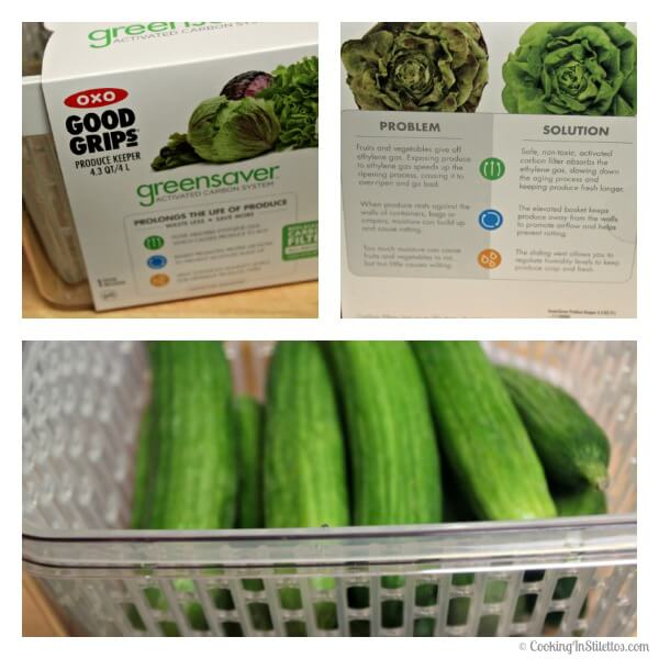 OXO Greensaver | Cooking In Stilettos