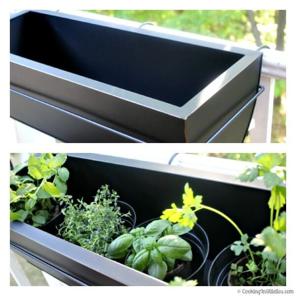 OXO Spring Gardening - Preparing the Planters | Cooking In Stilettos