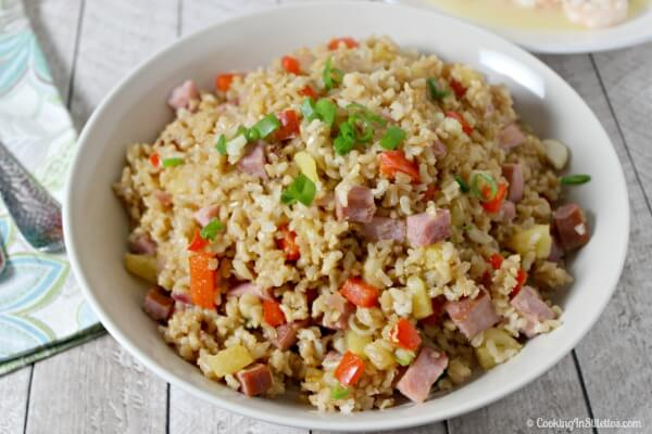Aloha Fried Rice | Cooking In Stilettos
