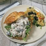 Cape Cod Chicken Salad with Honey Yogurt Dressing