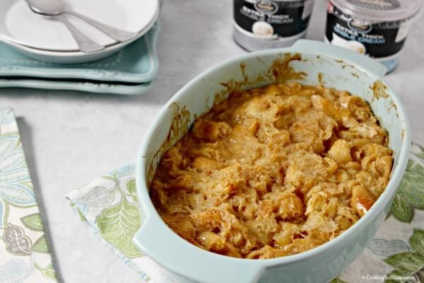 Caramel Croissant Bread Pudding   Cooking In Stilettos