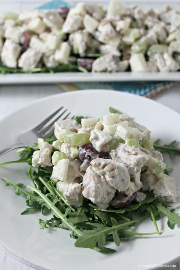 Chicken Waldorf Salad | Cooking In Stilettos