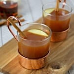 Warm Up To Fall With Hot Apple Cider Chai Tea #donthesitaste