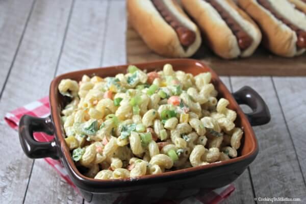 Lightened Up Pasta Salad   Cooking In Stilettos