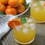 Last Minute Entertaining With A Tangerine Mojito #MixedWithTrop