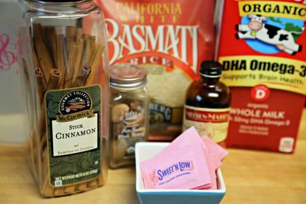 Skinny Cinnamon Horchata - Ingredients | Cooking In Stilettos