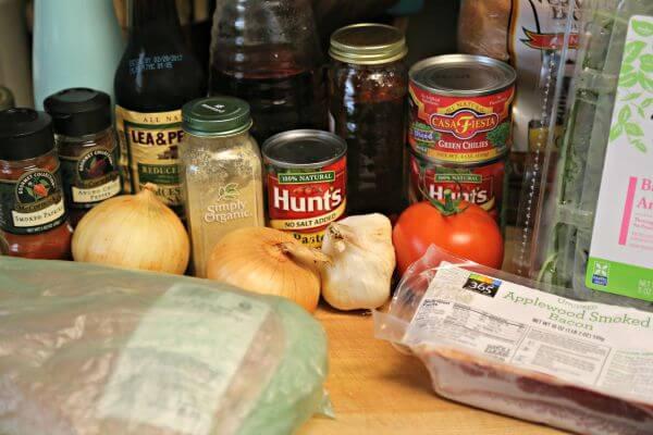 BBQ Pulled Chicken BLT Sandwich - Ingredients   Cooking In Stilettos