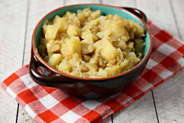 Easy Mustard Apple Chutney | Cooking In Stilettos