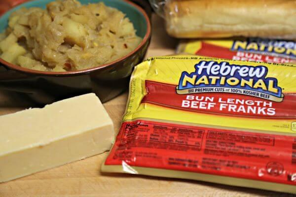 Easy Mustard Apple Chutney - Making the Cheesy Apple Chutney Franks | Cooking In Stilettos