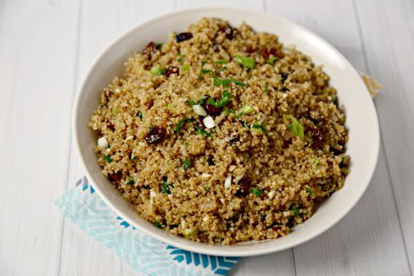 Autumn Quinoa Pilaf | Cooking In Stilettos
