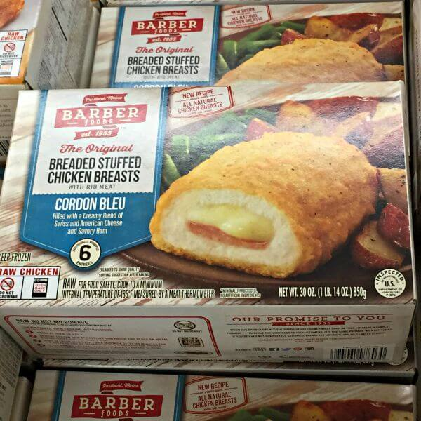 Barber Breaded Stuffed Chicken Breasts - Multi Pack
