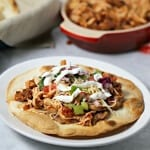 Dinner Made Easy With Slow Cooker Chicken Tinga Tostadas #OldElPaso