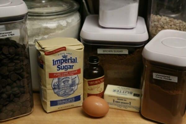 Dark Chocolate Oatmeal Cookies - Ingredients | Cooking In Stilettos