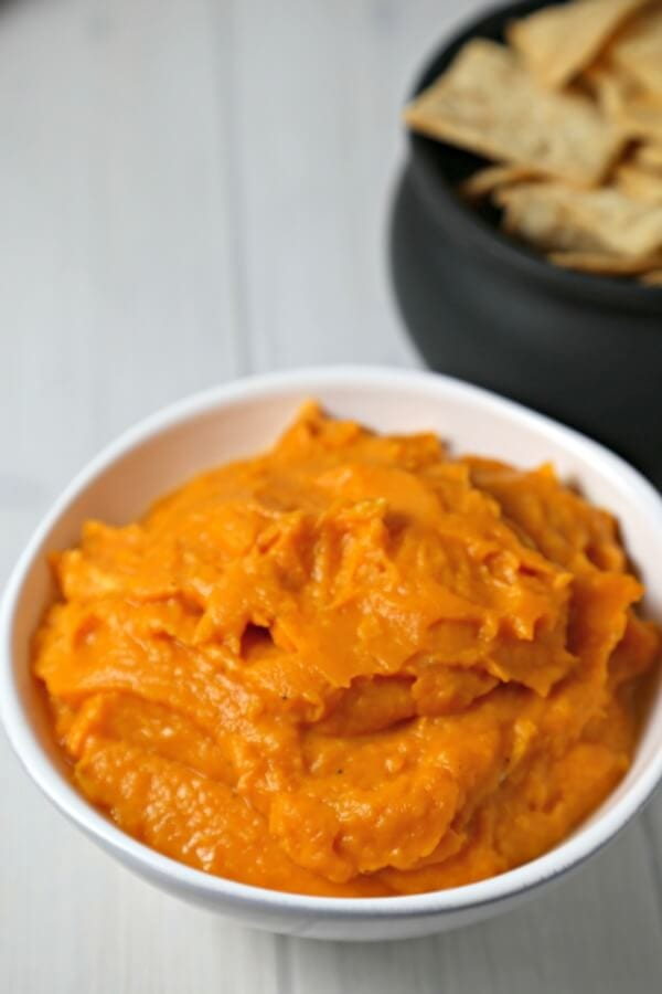 Roasted Butternut Squash Dip | Cooking In Stilettos