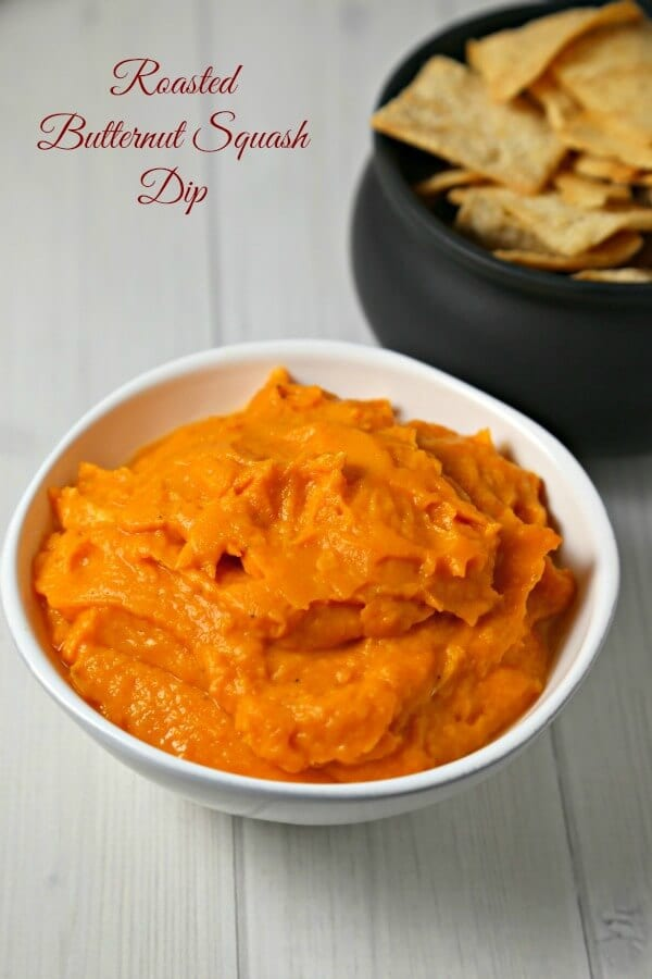Celebrate fall with this savory Roasted Butternut Squash Dip, flavored with smoky spices and a touch of Greek yogurt. This is a dip your guests will love | Cooking In Stilettos