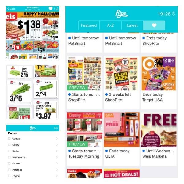 Flipp App & Shopping List | Cooking In Stilettos