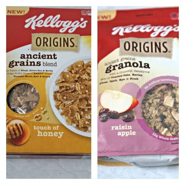 Kellogg's Origins Cereal and Granola | CookingInStilettos.com