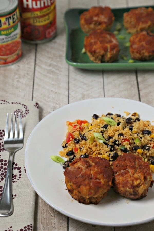 Southwestern Turkey Meatloaf Muffins | Cooking In Stilettos