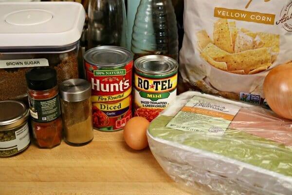 Southwestern Turkey Meatloaf Muffins - Ingredients   Cooking In Stilettos