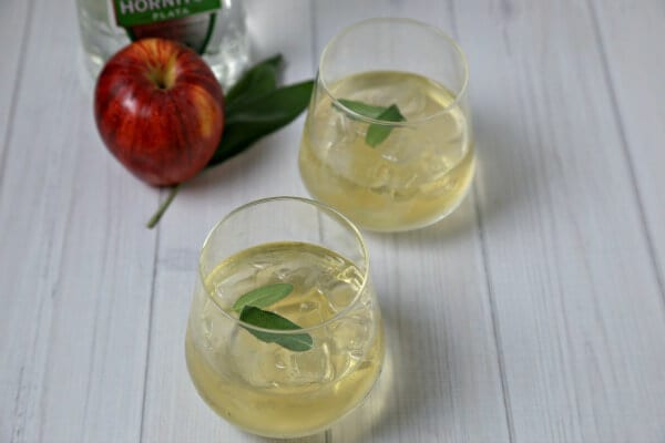 Toast the season with this autumn-inspired Tequila Cider Smash Cocktail from CookingInStilettos.com. Silver tequila, apple cider and fresh sage are muddled into the perfect sip! Tequila Cider Smash Cocktail | Tequila Cocktail Recipe | Apple Cider Cocktail | Fall Cocktail | Easy Cocktail Recipe | Muddled Cocktail