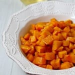 A Tequila-Laced Thanksgiving With Tequila-Glazed Butternut Squash #NotJustAnyLife #NotJustAnyTequila